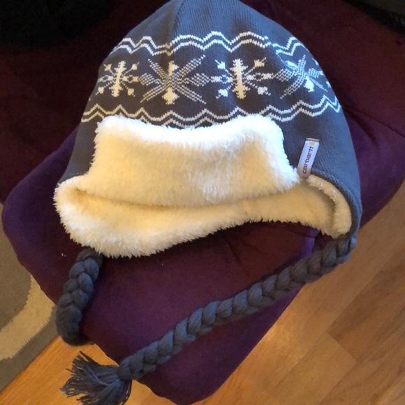 a1d79b52e76b9 Carhartt Accessories - Carhartt warm shearling-lined knit earflap hat